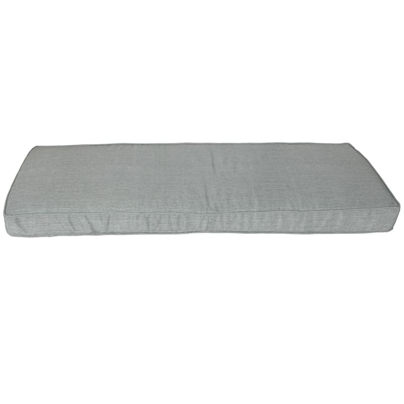 Tahiti Silver Outdoor Bench Cushion