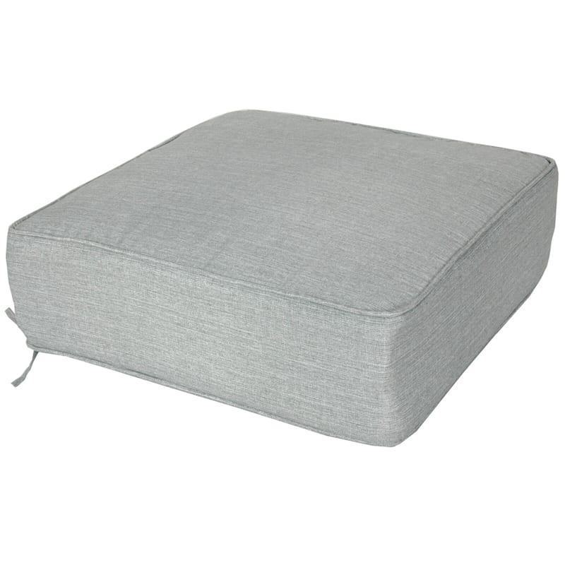 Tahiti Silver Outdoor Deep Seat Cushion