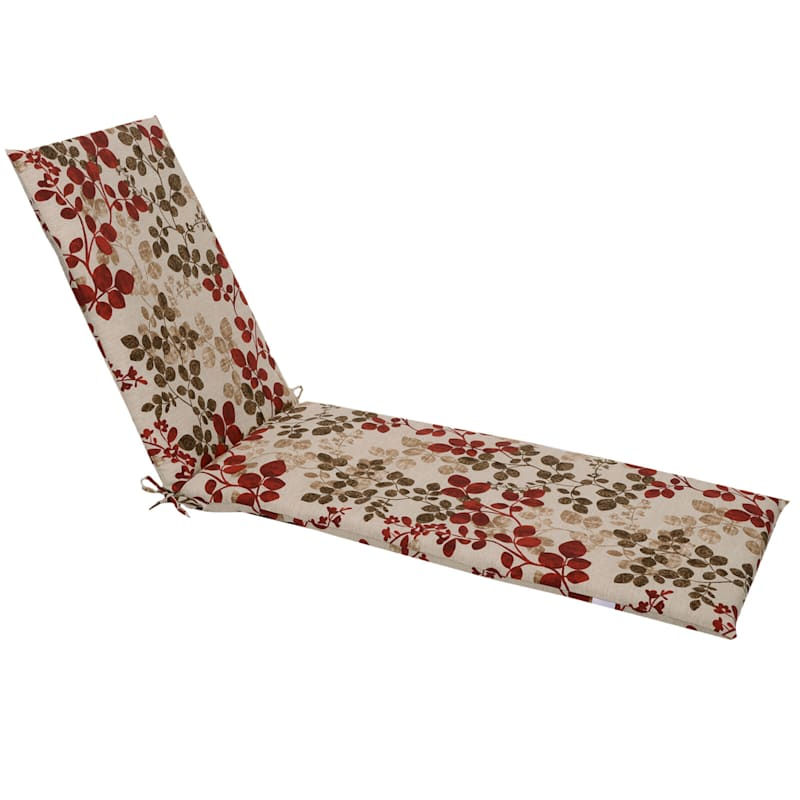 Cabrera Sangria Basic Chaise Cushion