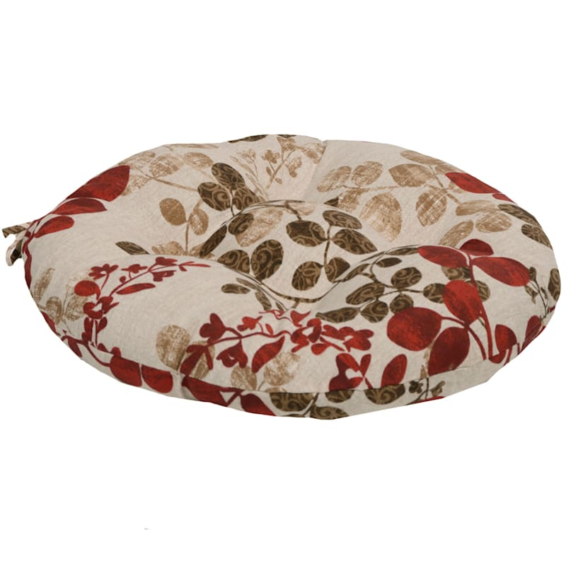 Cabrera Sangria Outdoor Round Seat Cushion