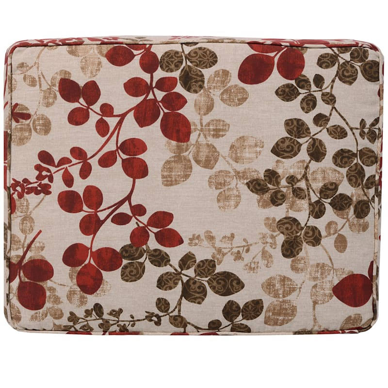 Cabrera Sangria Outdoor Gusseted Short Back Cushion