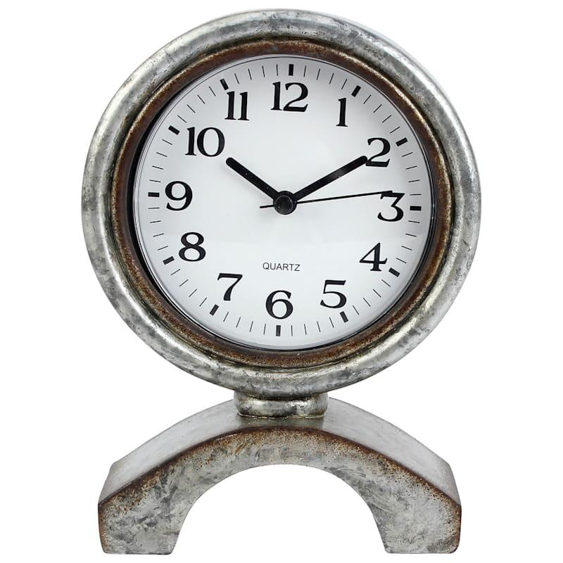 Farm Fresh Rustic Table Clock