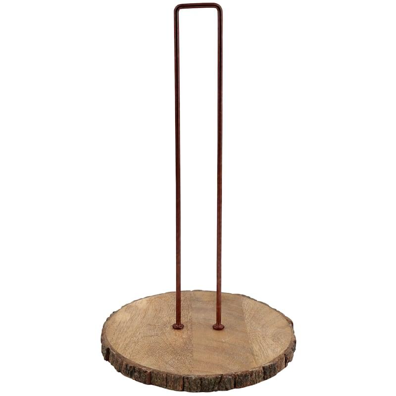 Ant. Copper/Bark Wood PTH