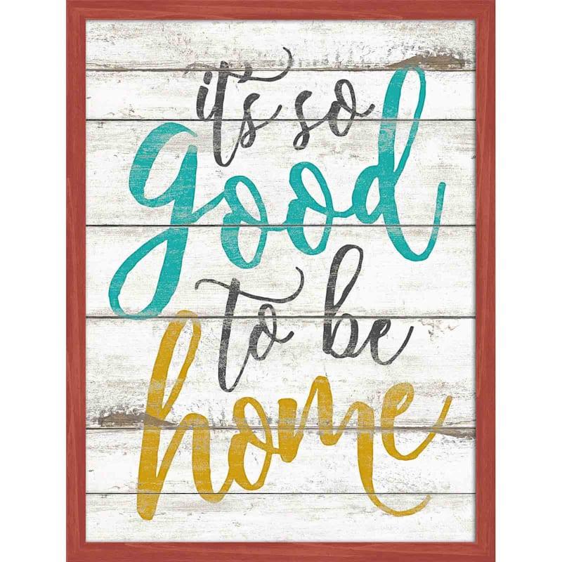 AWPB 12X16 GOODTO BE HOME