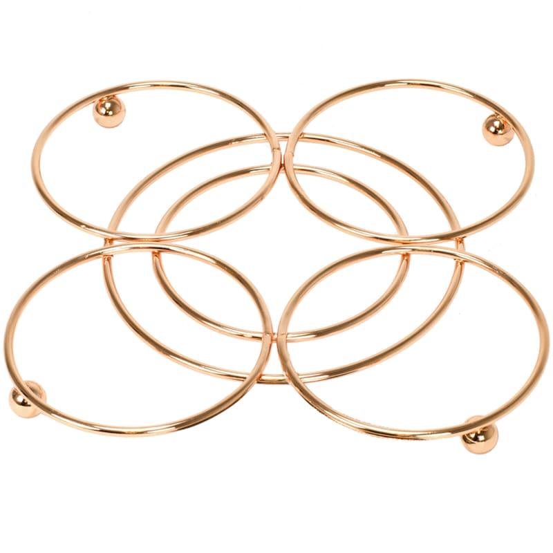 Copper Circle Trivet