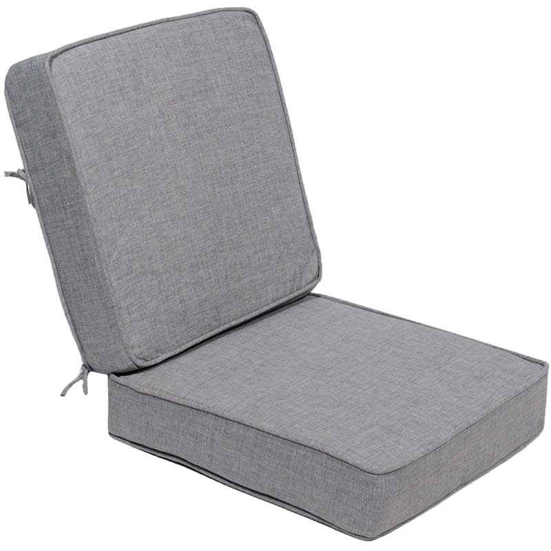 Wessex Azure Outdoor Premium Deep Seat 2-Piece Cushion