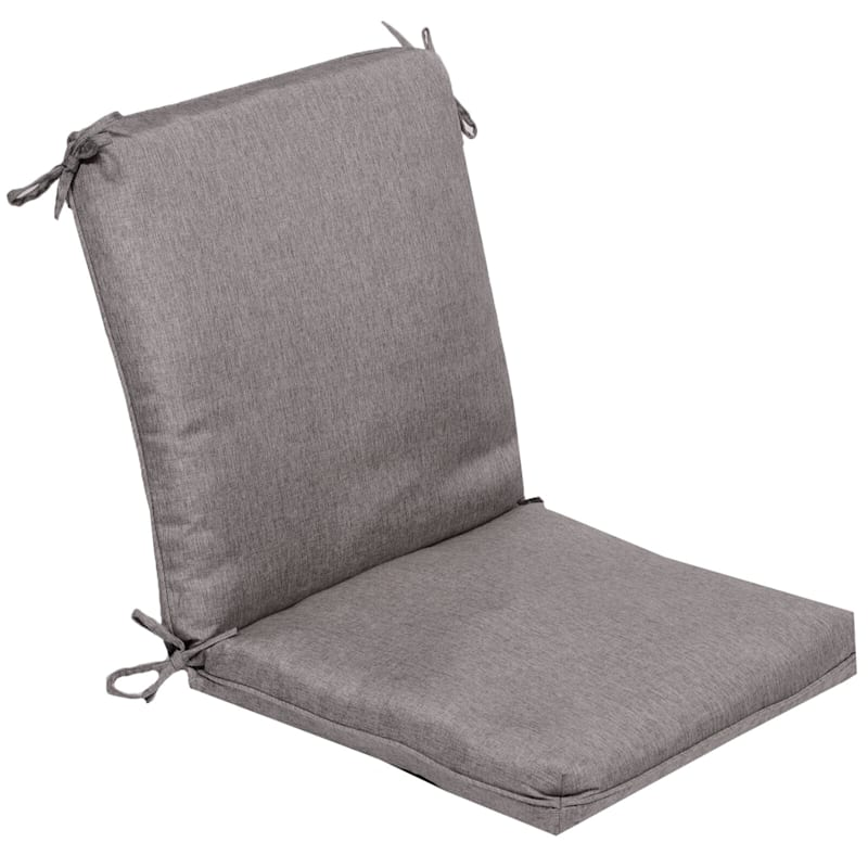 Vernon Granite Outdoor Premium Hinged Chair Cushion