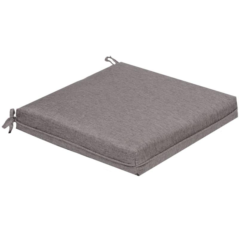 Vernon Granite Outdoor Premium Square Seat Cushion