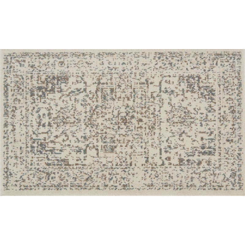 D385 Norwich Medallion Ivory Rug - 3x4 ft.