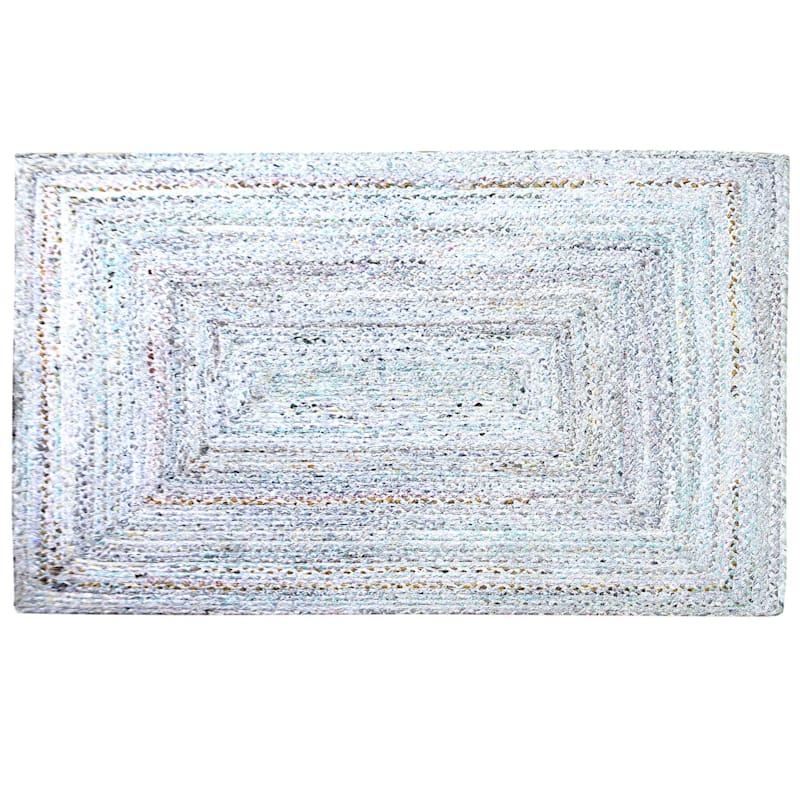 (D382) Braided Chindi Pastel, 3x5
