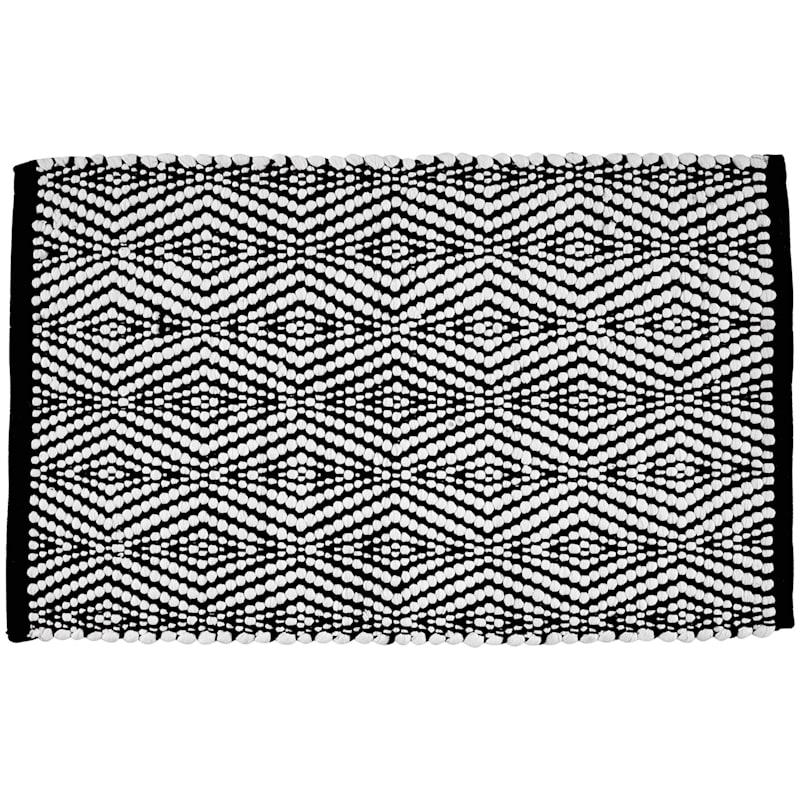 DIAMOND BLACK/WHITE 20X34