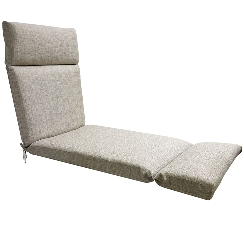 Fiddlestix Outdoor Premium Chaise Lounge Universal Cushion