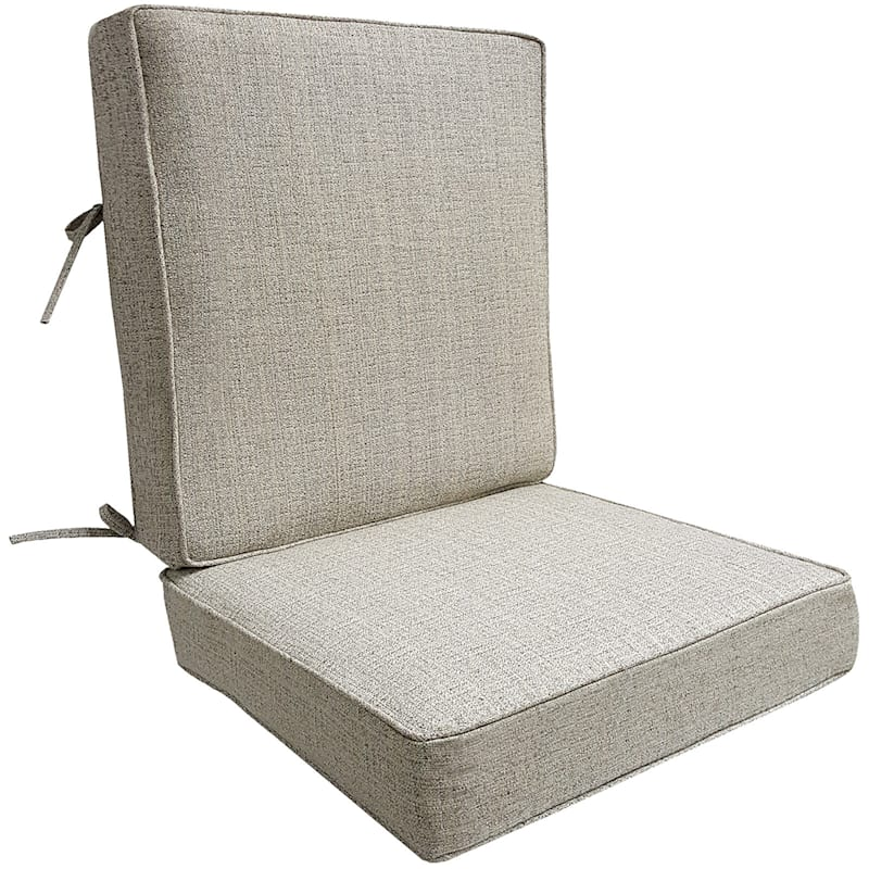 Fiddlestix Outdoor Premium Deep Seat 2-Piece Cushion