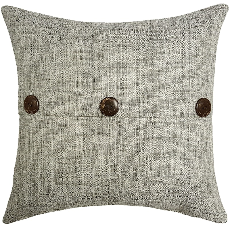 Fiddlestix Outdoor Premium 18in. Square Button Pillow