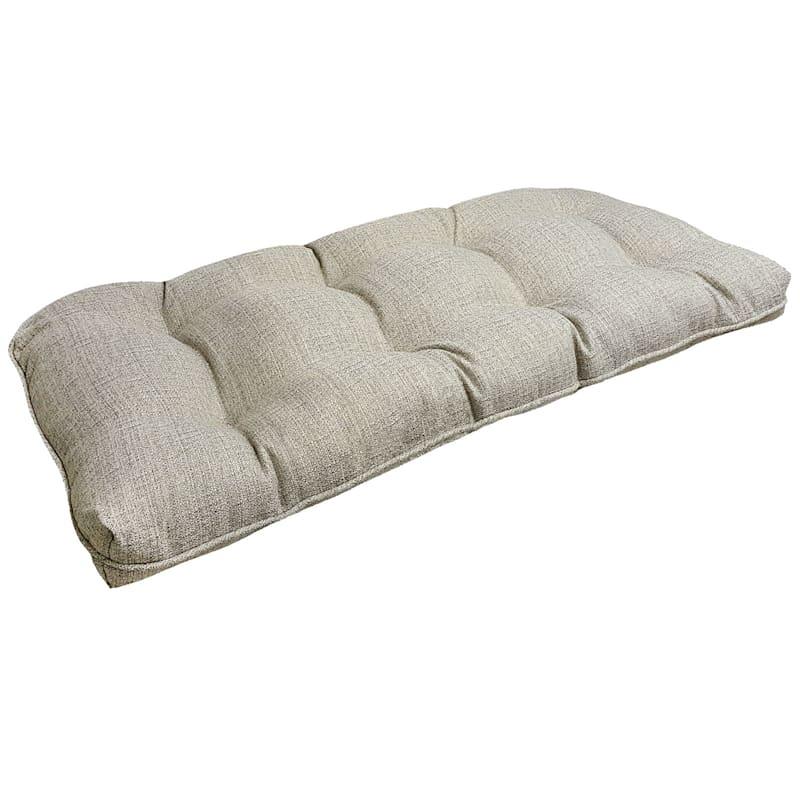 Fiddlestix Outdoor Premium Wicker Settee Cushion