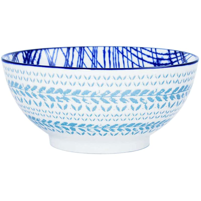 """Teal Cereal Bowl, 5.4"""""""