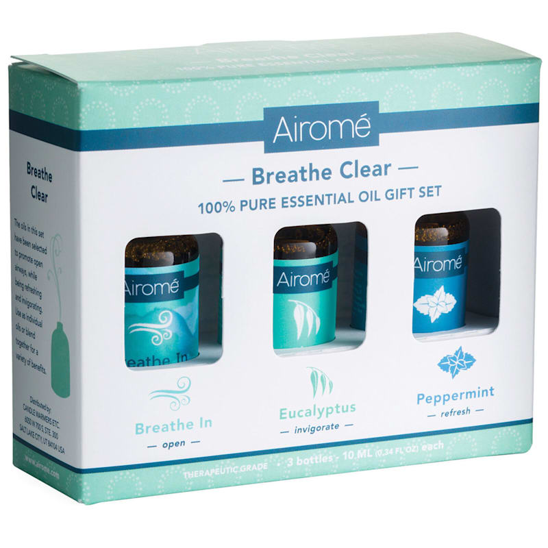 3-Piece Breathe Essential Oil