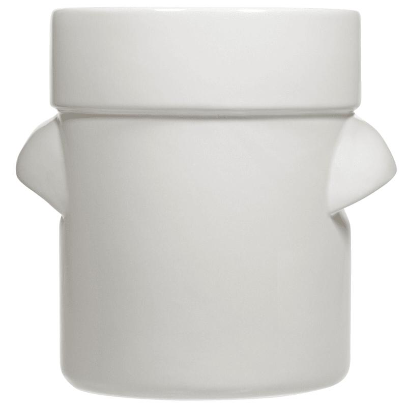 Oversized White Turino Crock