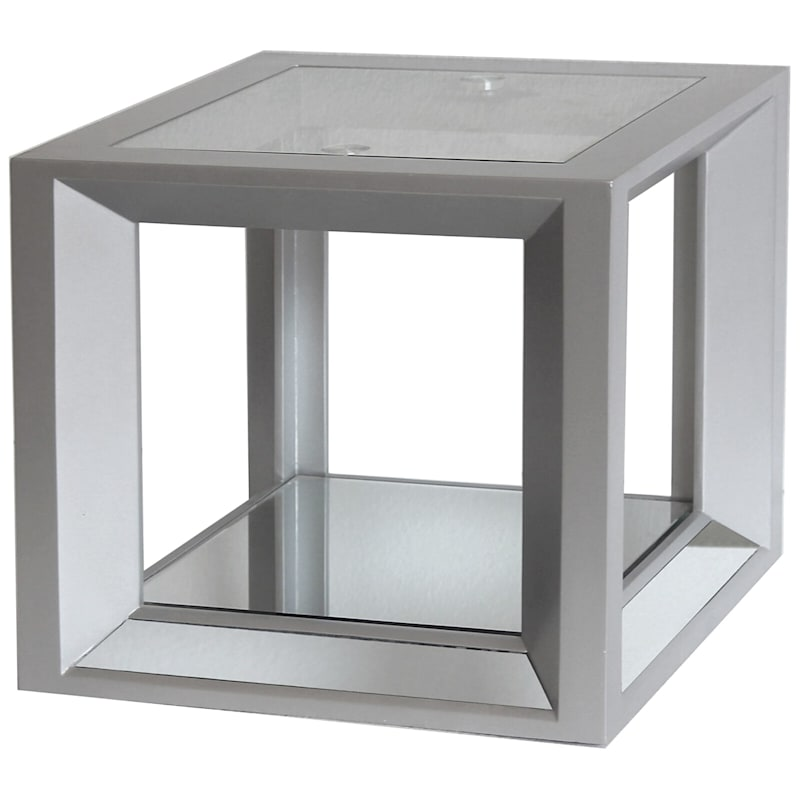 Beth Square Mirror End Table