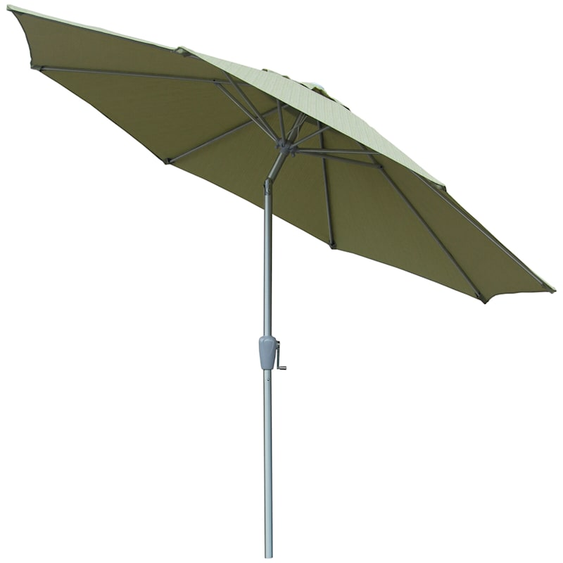 9 ft. Premium Crank & Tilt Umbrella, Salinas Grass