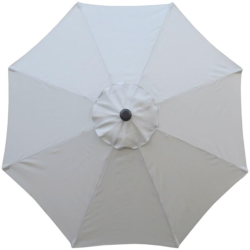 7.5 ft. Crank & Tilt Umbrella, Grey