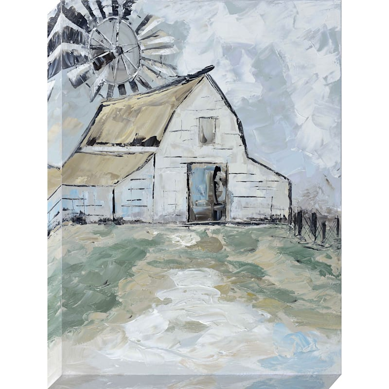 30X40 Barn Enhanced Canvas