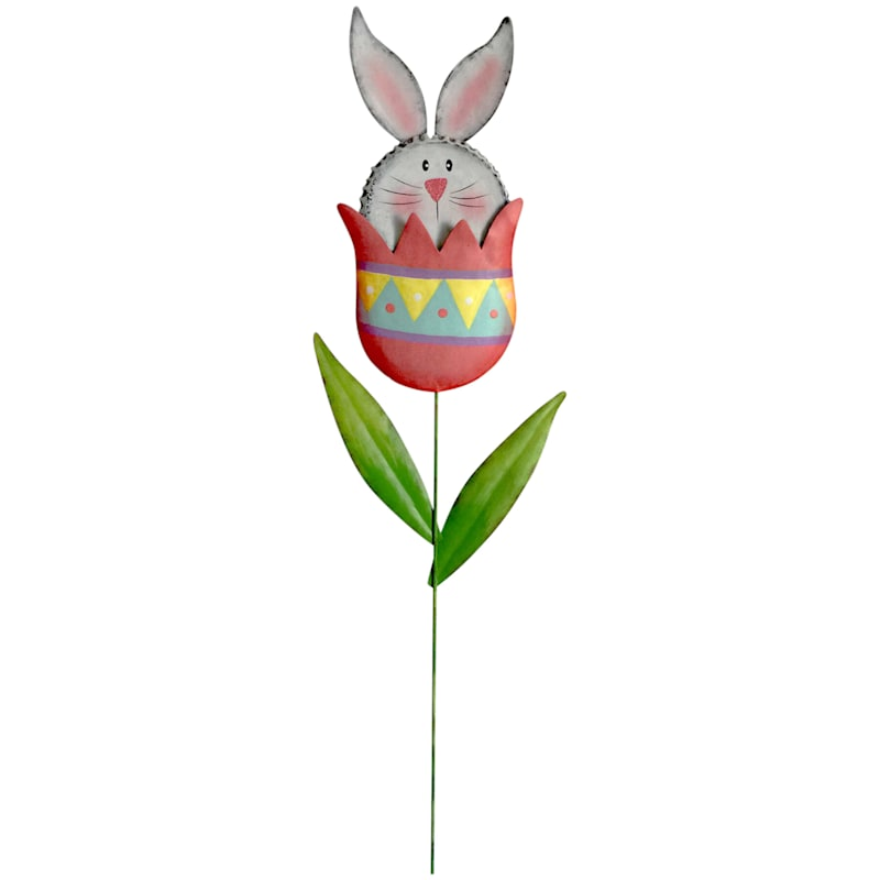 Easter Bunny in Egg Stake 29-in