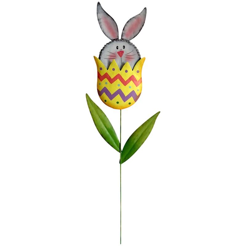 Bunny in Egg Stake 29-in