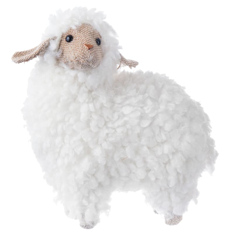 Cotton Standing Lamb 6.7-in