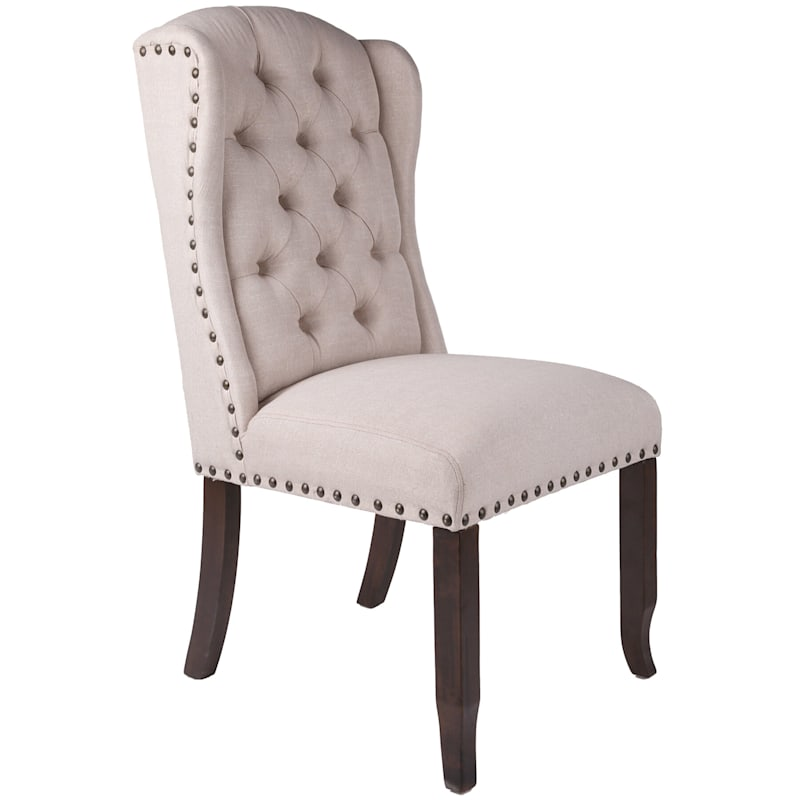 Aahmad Natural Wing Dining Chair