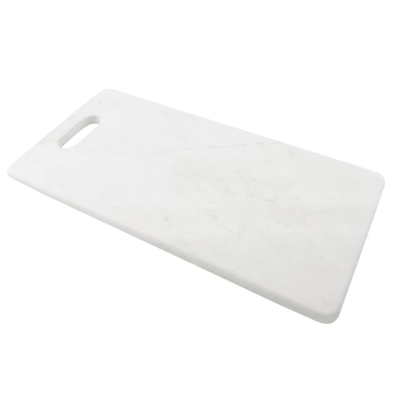 Rectangular White Marble Serve Board