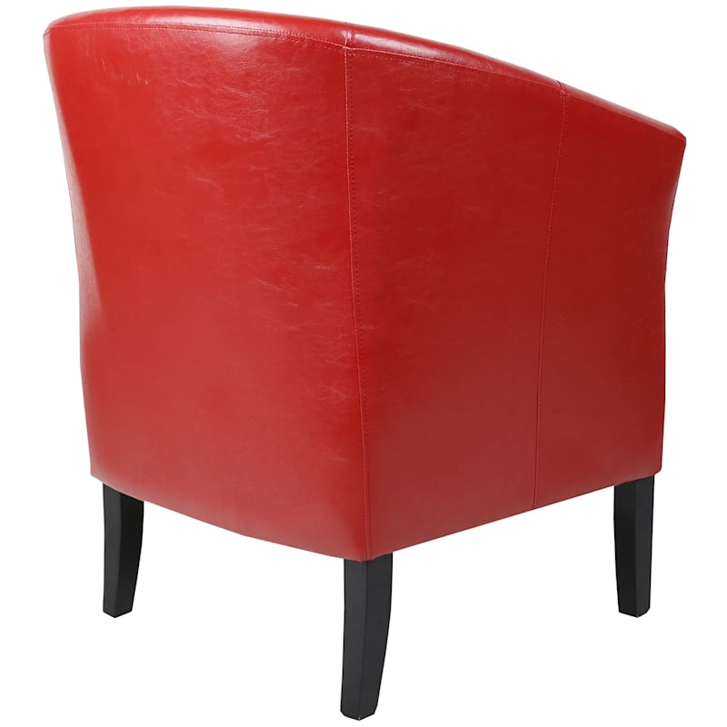 Simon Accent Chair, Red
