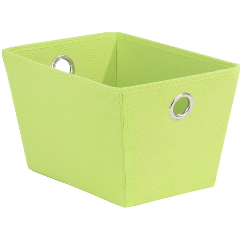 Tapered Tote W/Grommet Green
