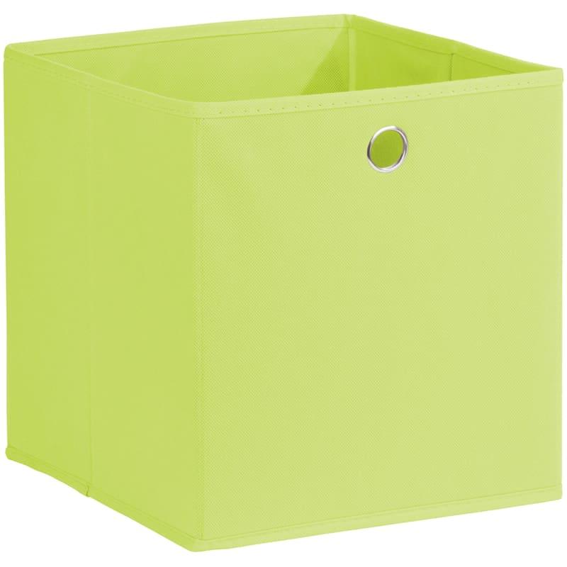 Kid Fabric Cube Tote Green