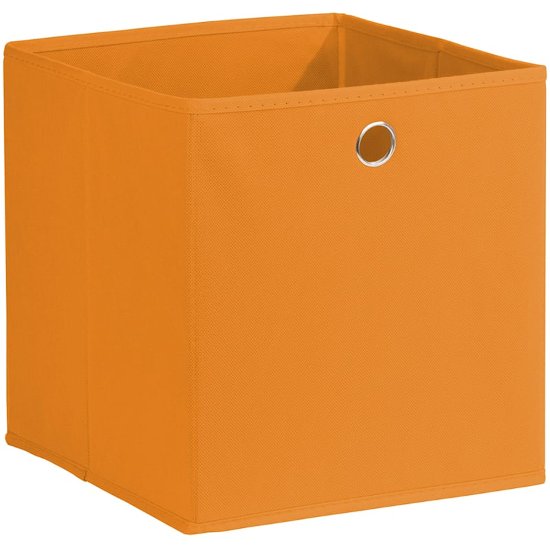 Kid Fabric Cube Tote Orange