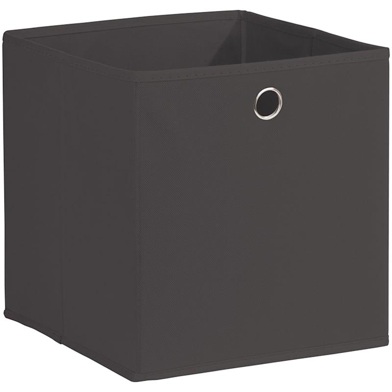 Kid Fabric Cube Tote Black