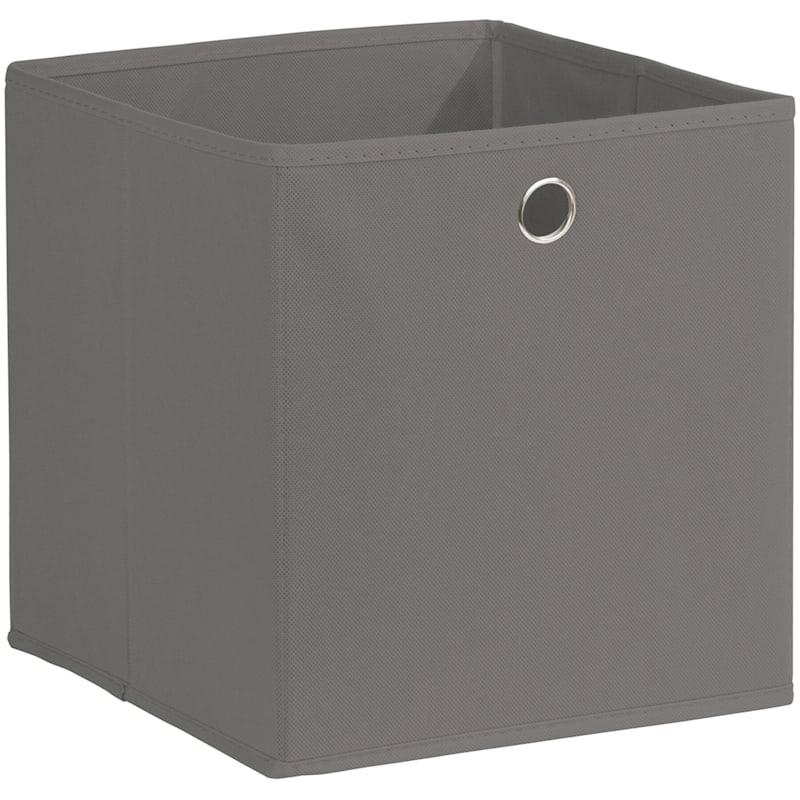 Kid Fabric Cube Tote Grey