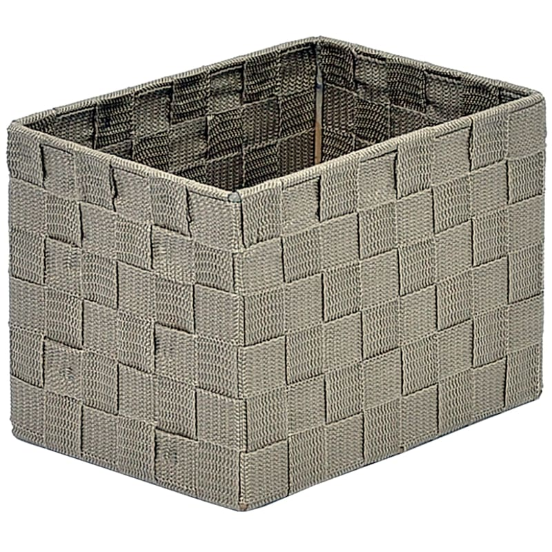 XSmall Under the Bed Nylon Basket Beige