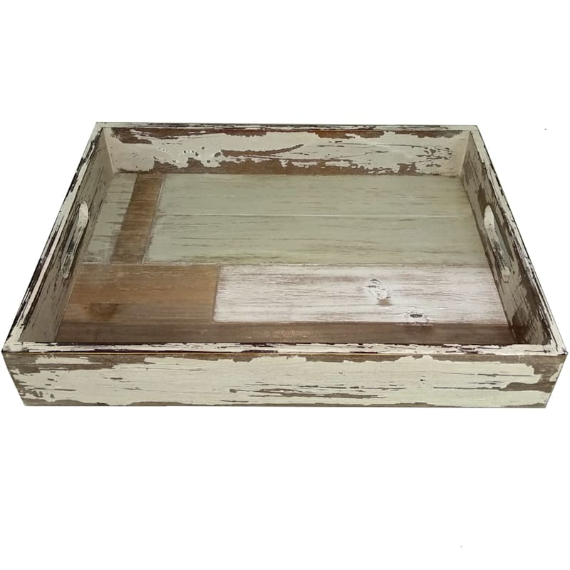 11X15X2 Wooden Rectangle Tray