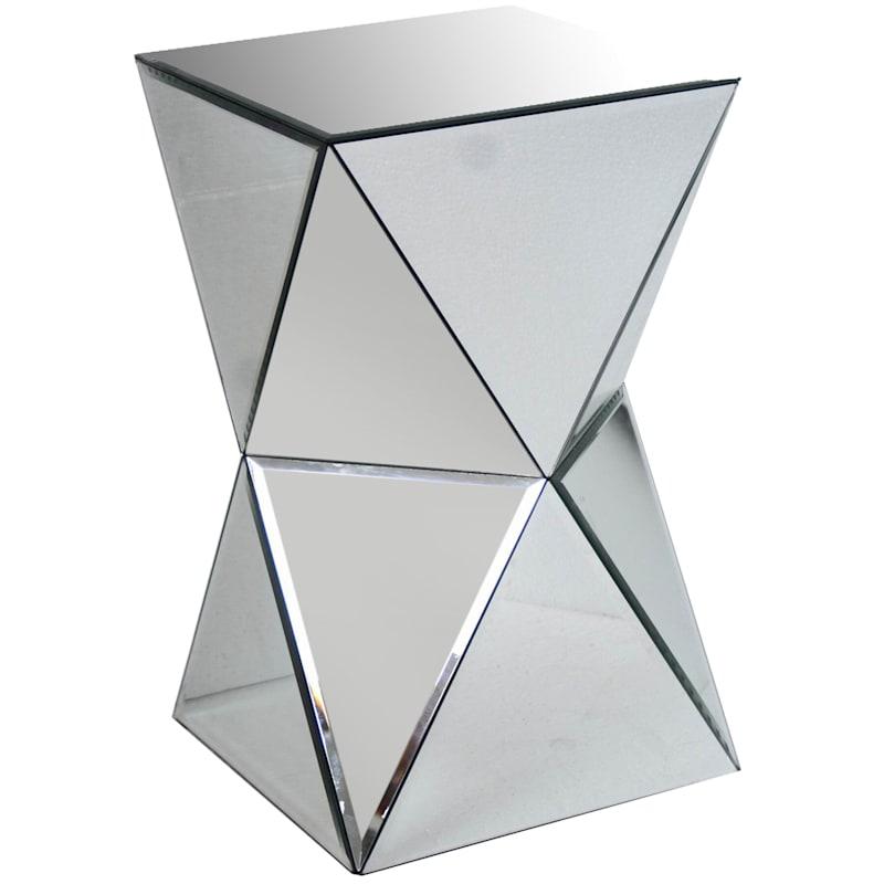 20 SILVER MIRROR PYRAMID TABLE