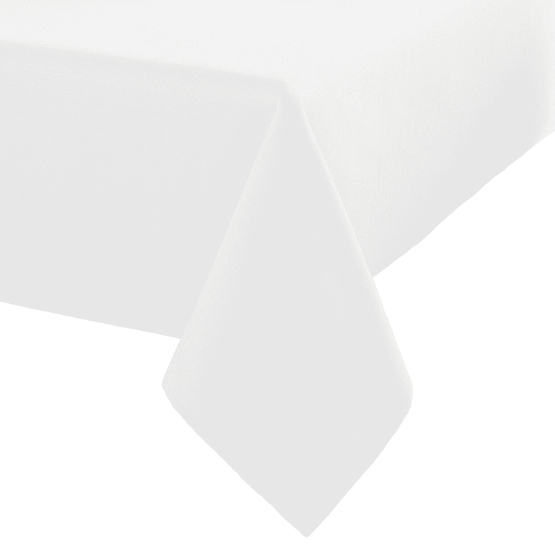 Madison 70in. Diameter Table Cloth White