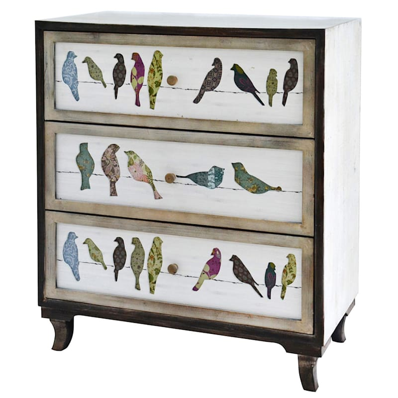 Birds on a Wire Cabinet