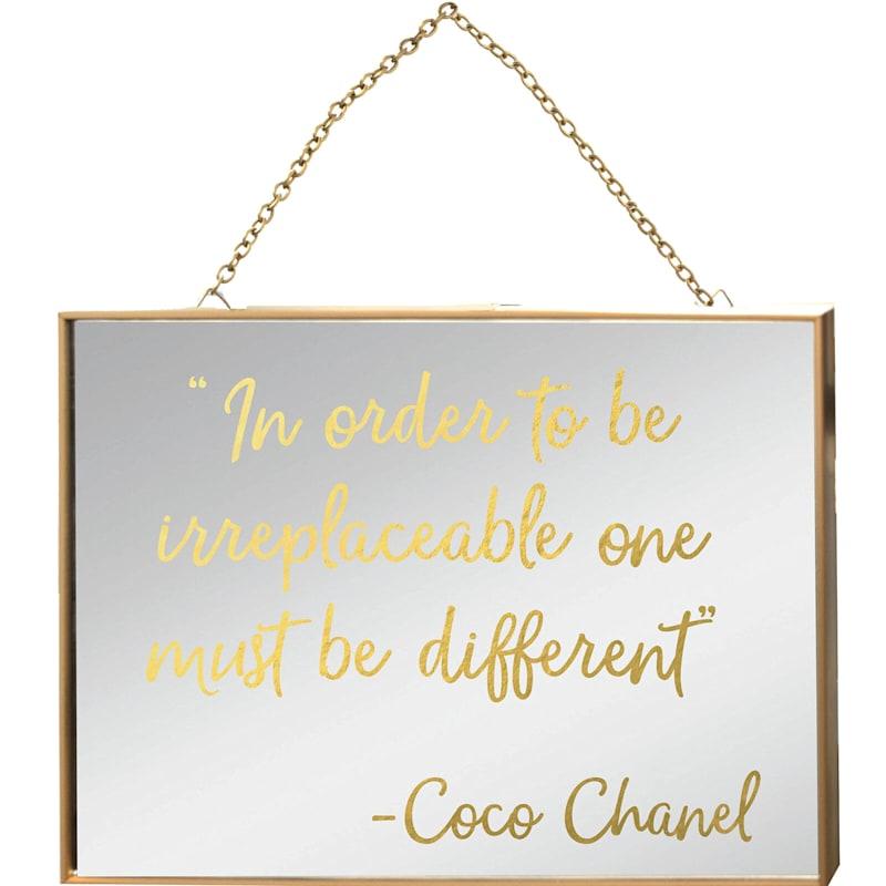 17X17 Different Chanel Typography Under Glass Art