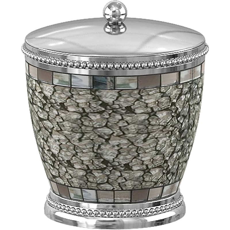 Iceberg Silver Metal Ice Cotton Container