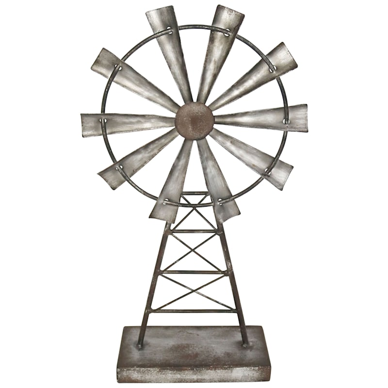 7X14 Metal Galvanized Windmill Tower