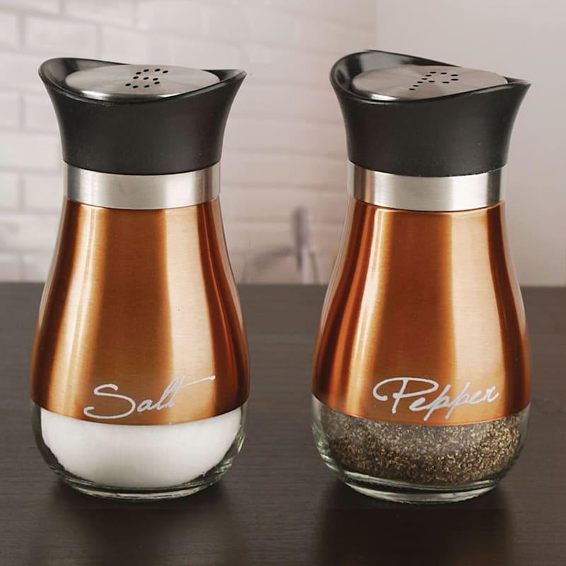 Copper Salt/Pepper Shakers