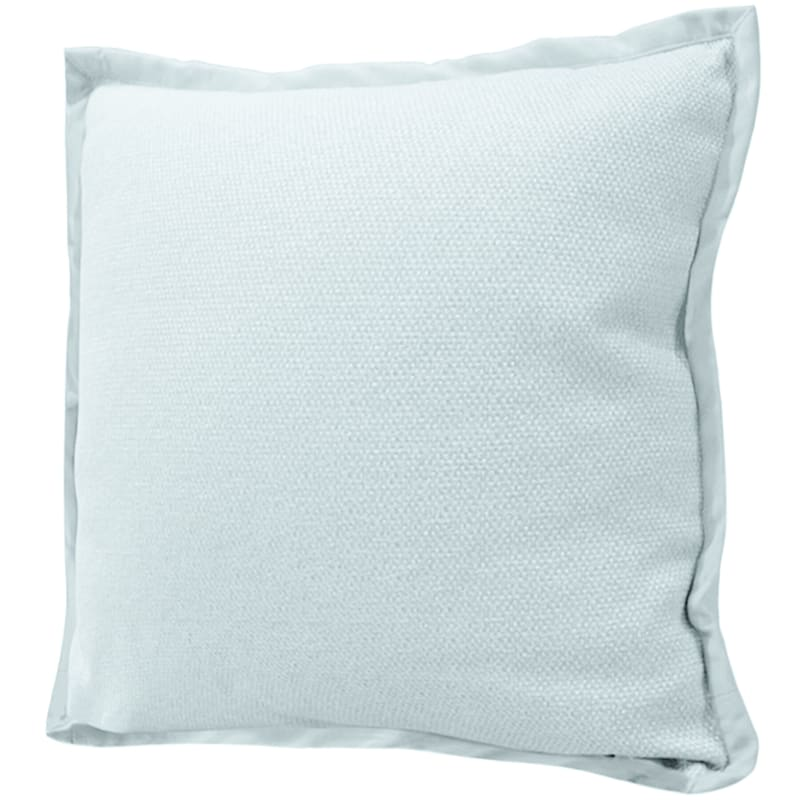 Miles Mineral Jacquard Pillow With Flange 22X22