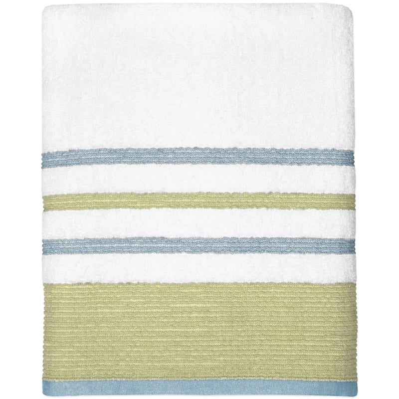Samantha Sage/Aqua Bath Towel