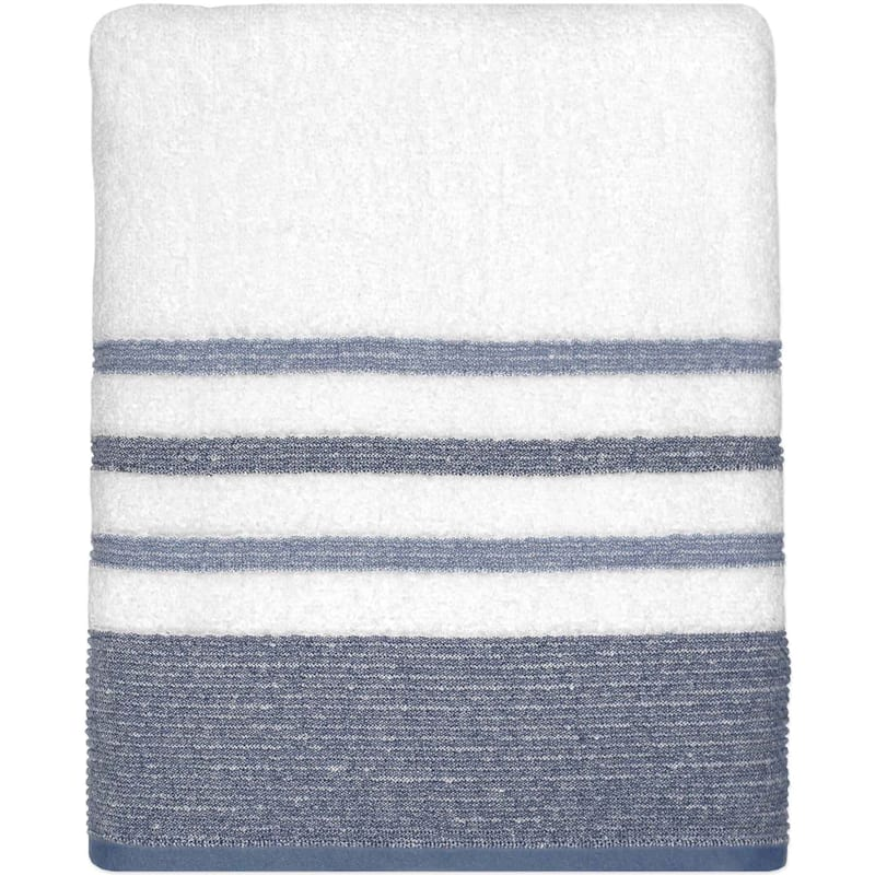 Samantha Blue/Grey Bath Towel