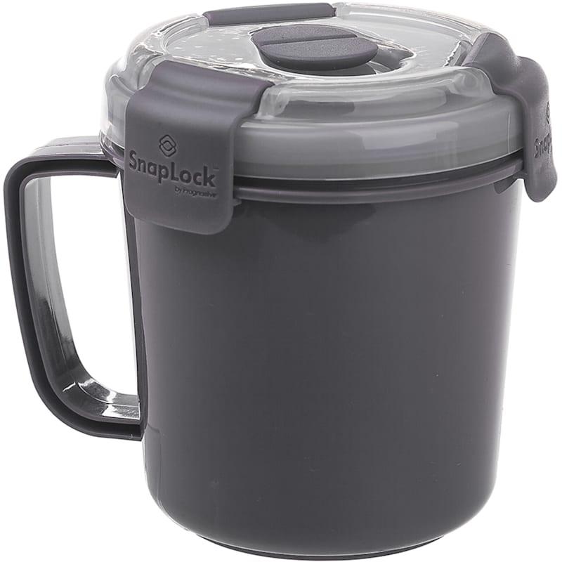 Grey Soup To Go Storage